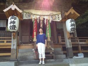 走水神社に参拝