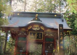 秩父 の三峯神社。またもや、パワフルなオーブがお出迎え